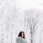 Winter Engagement Session in Frankenmuth
