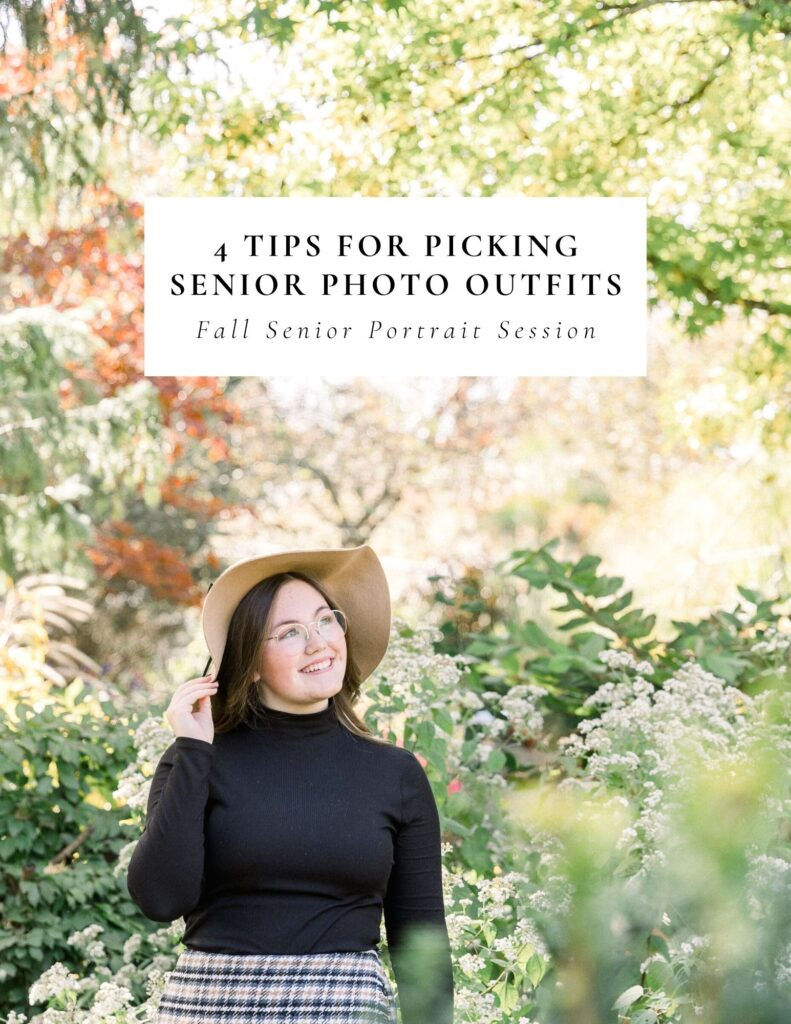 Tips for Picking Senior Photo Outfit