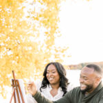 Creative and Romantic Fall Engagement